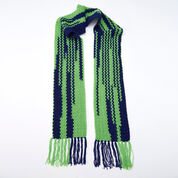 Red Heart Touchdown Scarf