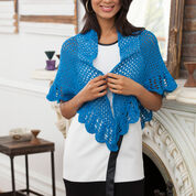 Go to Product: Aunt Lydia's V-Stitch & Scallop Shawl in color
