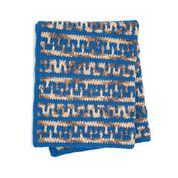 Go to Product: Bernat Greek Key Mosaic Crochet Blanket in color