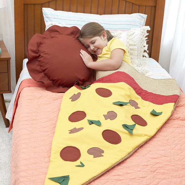 Dual Duty Pizza Slice Snug Sack in color