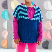 Red Heart Child's Fashion Vest, 2 yrs