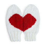 Go to Product: Red Heart Heartland Knit Mittens in color
