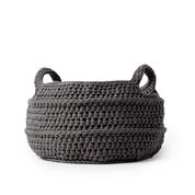 Go to Product: Bernat Crochet Basket with Handles in color