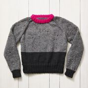 Go to Product: Stitch Club Raglan Color Block Knit Sweater, XL + Tutorial in color