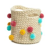 Go to Product: Caron Crochet Pompom Basket in color
