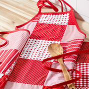 Go to Product: Coats & Clark Valentine Patchwork Apron in color