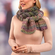 Red Heart Shaded Shells Super Scarf