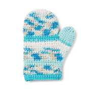 Lily Sugar'n Cream Scrub Clean Crochet Bath Mitt