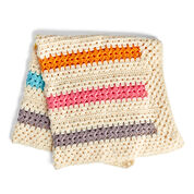 Bernat Pop-A-Minute Crochet Baby Blanket
