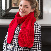 Go to Product: Red Heart Berry Stitch Scarf in color