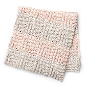 Bernat Mitered Crochet Blanket