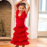 Red Heart Little Flamenco Dancer, 2 yrs