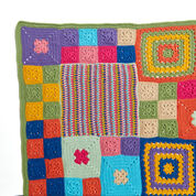 Red Heart Patched Persuasion Throw