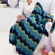 Go to Product: Red Heart Ocean Waves Throw in color