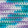 Lily Sugar'n Cream Cone Yarn (400g/14 oz), Beach Ball Blue Ombre in color Beach Ball Blue Ombre