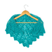 Patons Chevron Lace Shawl or Scarf, Scarf