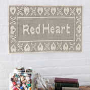 Go to Product: Red Heart Personalized Filet Crochet in color