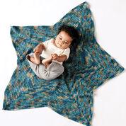 Bernat Starlight Crochet Blanket