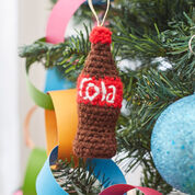 Go to Product: Red Heart Bottle of Cola Ornament in color