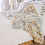 Red Heart Summer Breeze Throw