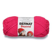 Go to Product: Bernat Beyond Yarn, Hot Pink - Clearance Shades* in color Hot Pink