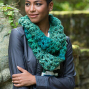 Red Heart Sparkling Shells Cowl