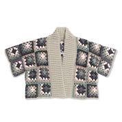 Caron x Pantone Crochet Kimono Cardigan, XS-L