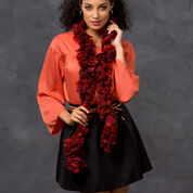 Go to Product: Red Heart Simone's Ruffle Scarf in color