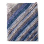 Caron Shake It Up Knit Blanket
