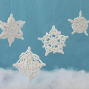 Lily Sugar'n Cream Assorted Snowflakes