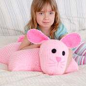 Go to Product: Red Heart Bunny Pillow Pal in color