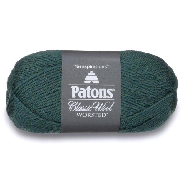 Patons Classic Wool Worsted Yarn, Jade Heather | Yarnspirations