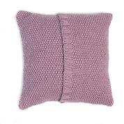 Patons Seed Stitch Knit Pillow, Version 1