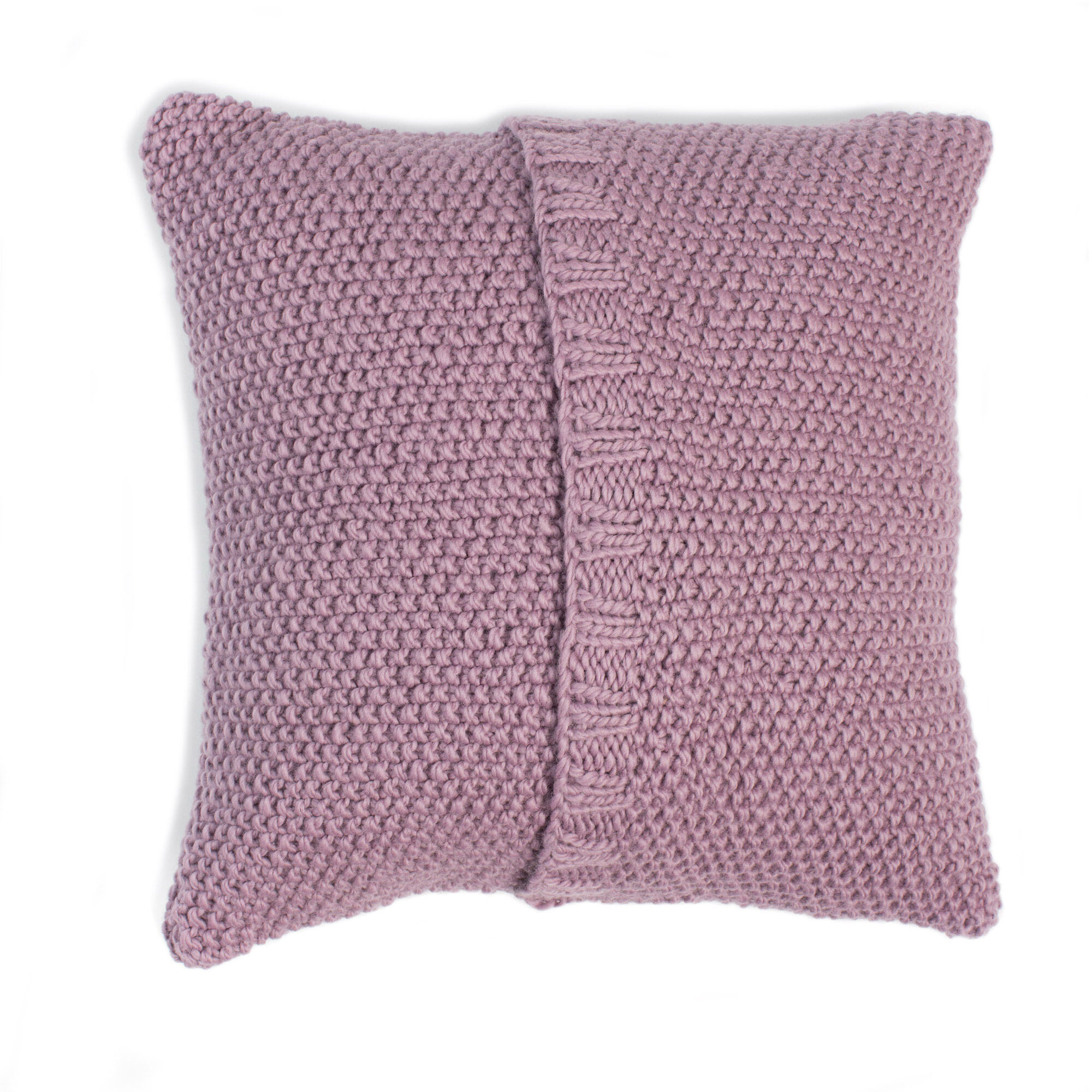 Patons Seed Stitch Knit Pillow, Version 1 Pattern | Yarnspirations