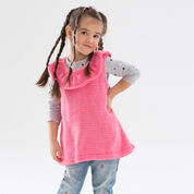 Red Heart Rockin' the Ruffles Tunic, 2 yrs