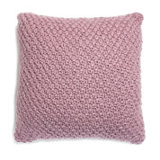 Patons Irish Moss Knit Floor Pillow