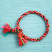 Bernat Kumihimo Friendship Bracelet