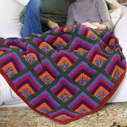 Go to Product: Red Heart Rich Mitered Crochet Throw in color