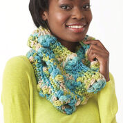 Go to Product: Bernat Textured Cowl, Version A in color