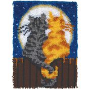 Go to Product: Wonderart Moonlight Meow Kit 15x20 in color