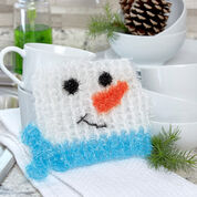 Go to Product: Red Heart Snowman in the Square Scrubby in color