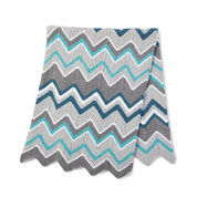 Go to Product: Bernat Zig-Zag Knit Blanket in color