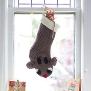 Bernat Reindeer Stocking