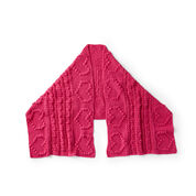 Go to Product: Red Heart Loving Hearts Crochet Shawl in color