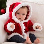 Red Heart Santa Baby Sweater, 3 mos