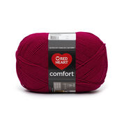 Go to Product: Red Heart Comfort Yarn in color Cardinal Red