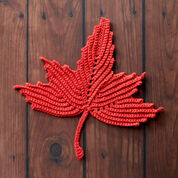 Go to Product: Lily Sugar'n Cream Maple Leaf Crochet Dishcloth in color