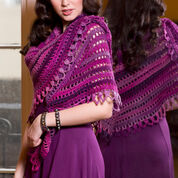 Red Heart Top-Down Shawl