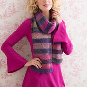 Go to Product: Red Heart Striped Shaded Scarf in color