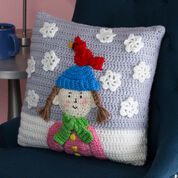 Go to Product: Red Heart Snowy Day Pillow in color